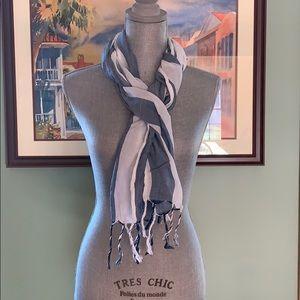 Aeropostale striped scarf